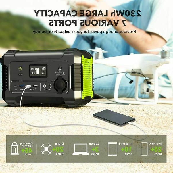 Portable Power Station 230Wh/62400mAh -