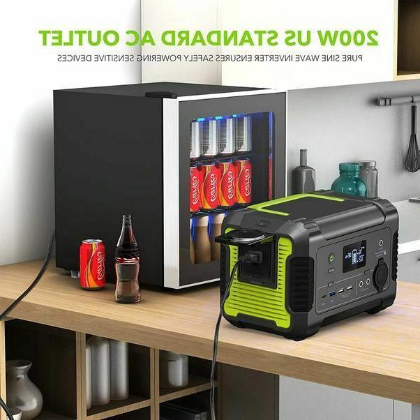 Portable 230Wh/62400mAh Camping Generator