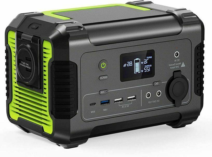Portable 230Wh/62400mAh Camping Generator -