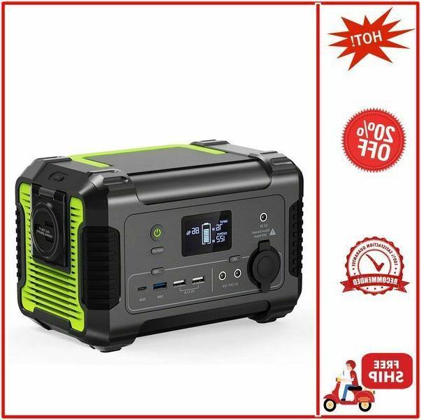 portable power station 200 230wh 62400mah camping