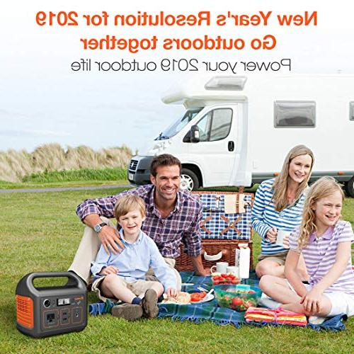 Generator 240, 240Wh Emergency Battery, 110V/200W Sinewave Outlet,Solar Generator Outdoors Camping