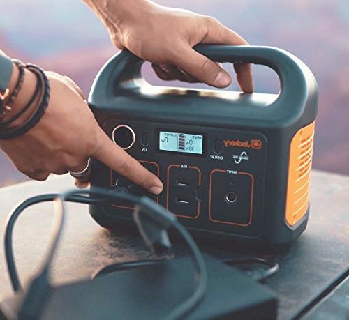 Jackery Generator 240, 240Wh Emergency Lithium 110V/200W Camping Travel Fishing