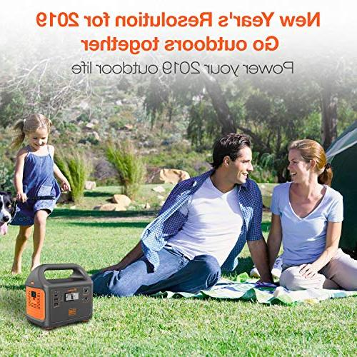 Jackery Power Station Generator Explorer Solar Generator Backup 110V/100W AC for Emergency
