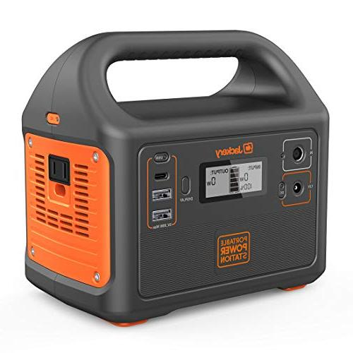 Jackery Generator 160, Solar Lithium Backup Power 110V/100W AC for Outdoors Camping Emergency