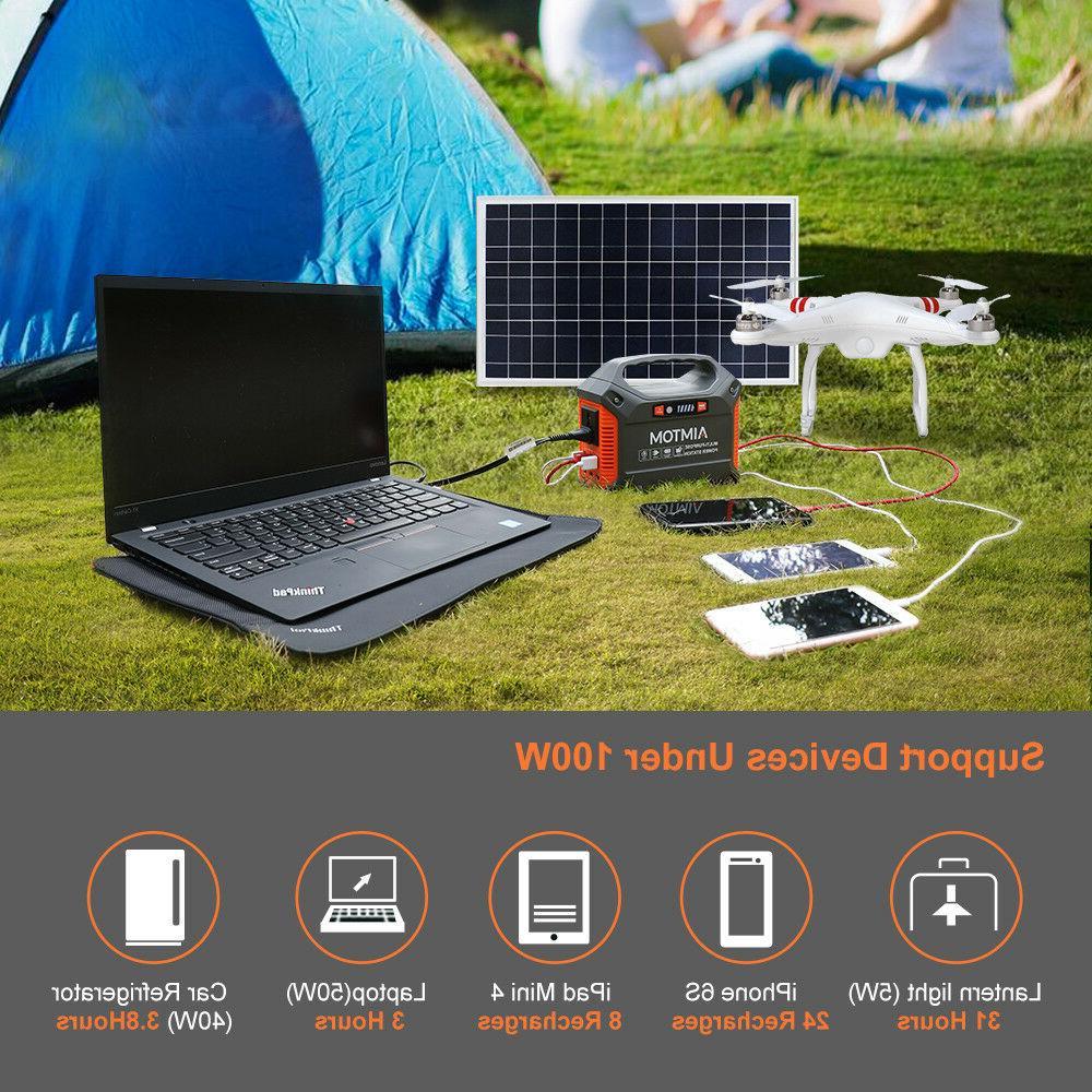 Portable 42000mAh 110VAC Power 12V Battery