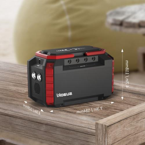 Suaoki S270 150Wh Solar Power Generator Supply Inverter