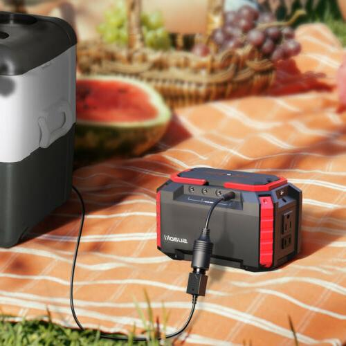 Portable Suaoki Solar Panel Power Inverter Generator Supply Energy Storage