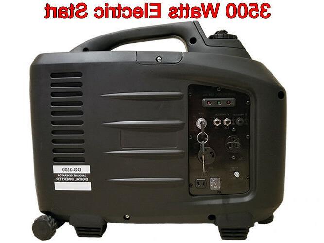 purewave digital 3500 watt gas generator inverter