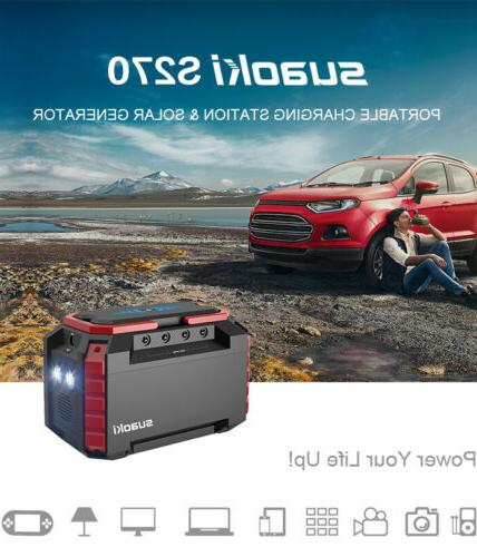 Suaoki S270 Power Generator Supply 150W Inverter Energy