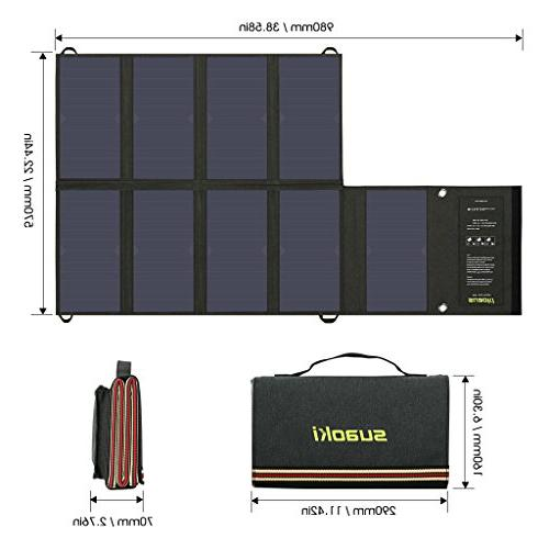 SUAOKI 60W Dual Output Portable with Car Tablet GPS Cellphone