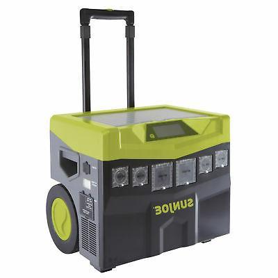 sun joe battery solar powered portable inverter