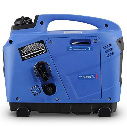 ARKSEN Super Inverter Generator Compliant 1250 LCD Display - Powered