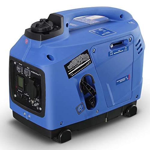 ARKSEN Super Inverter EPA CARB Compliant Peak 1250 Watts LCD Display Gas Powered
