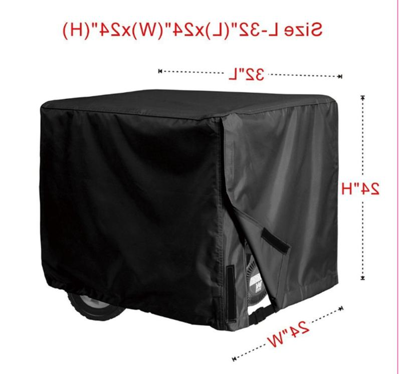 "Waterproof Cover Universal Black 32"" x 24"""