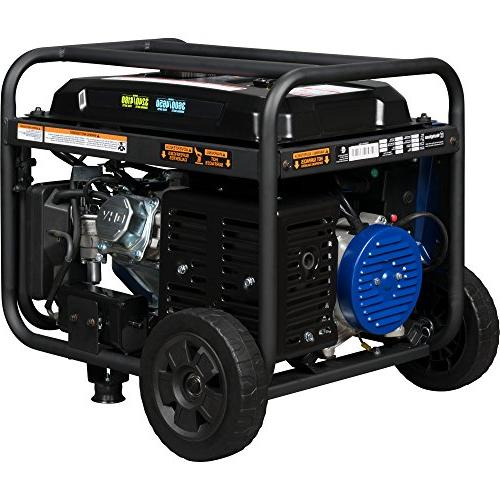 Westinghouse WGen3600DF Dual Fuel Electric Start - 3600 Rated &