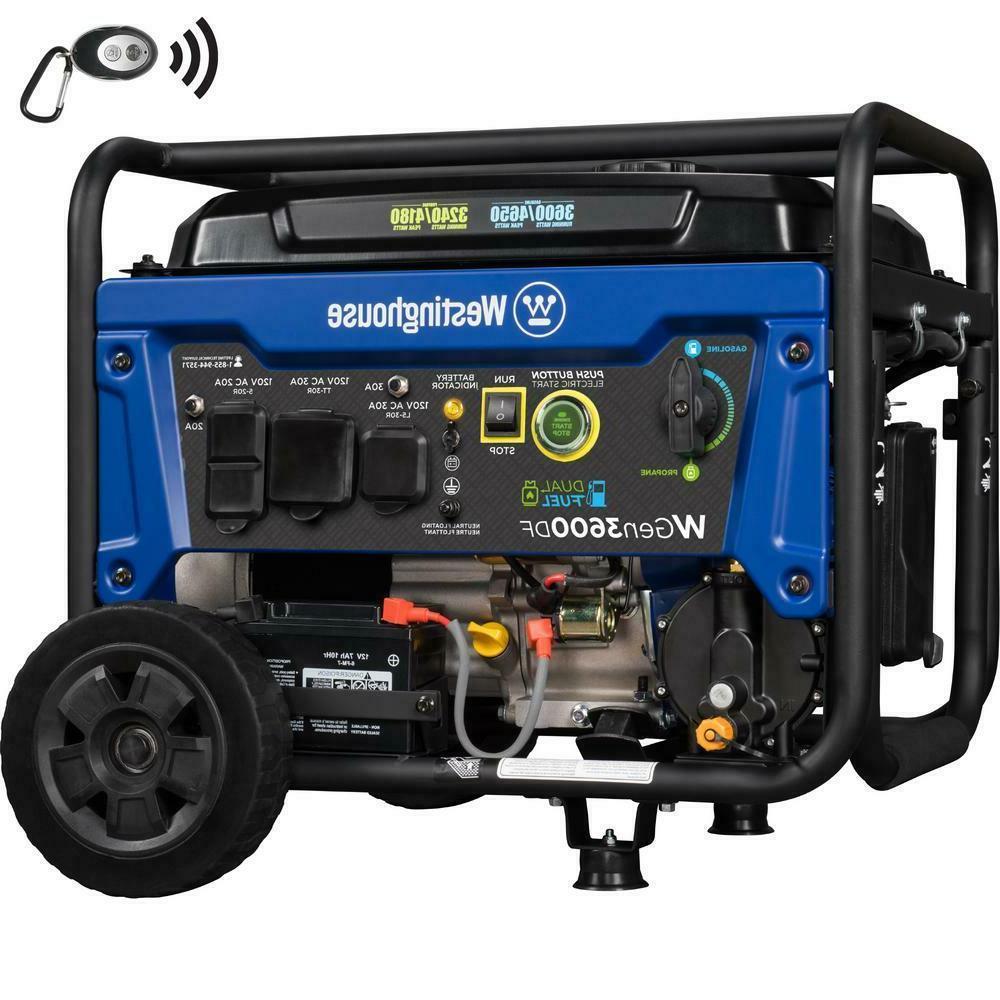 wgen3600df dual fuel electric start