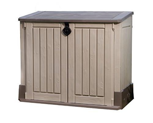 woodland storage shed