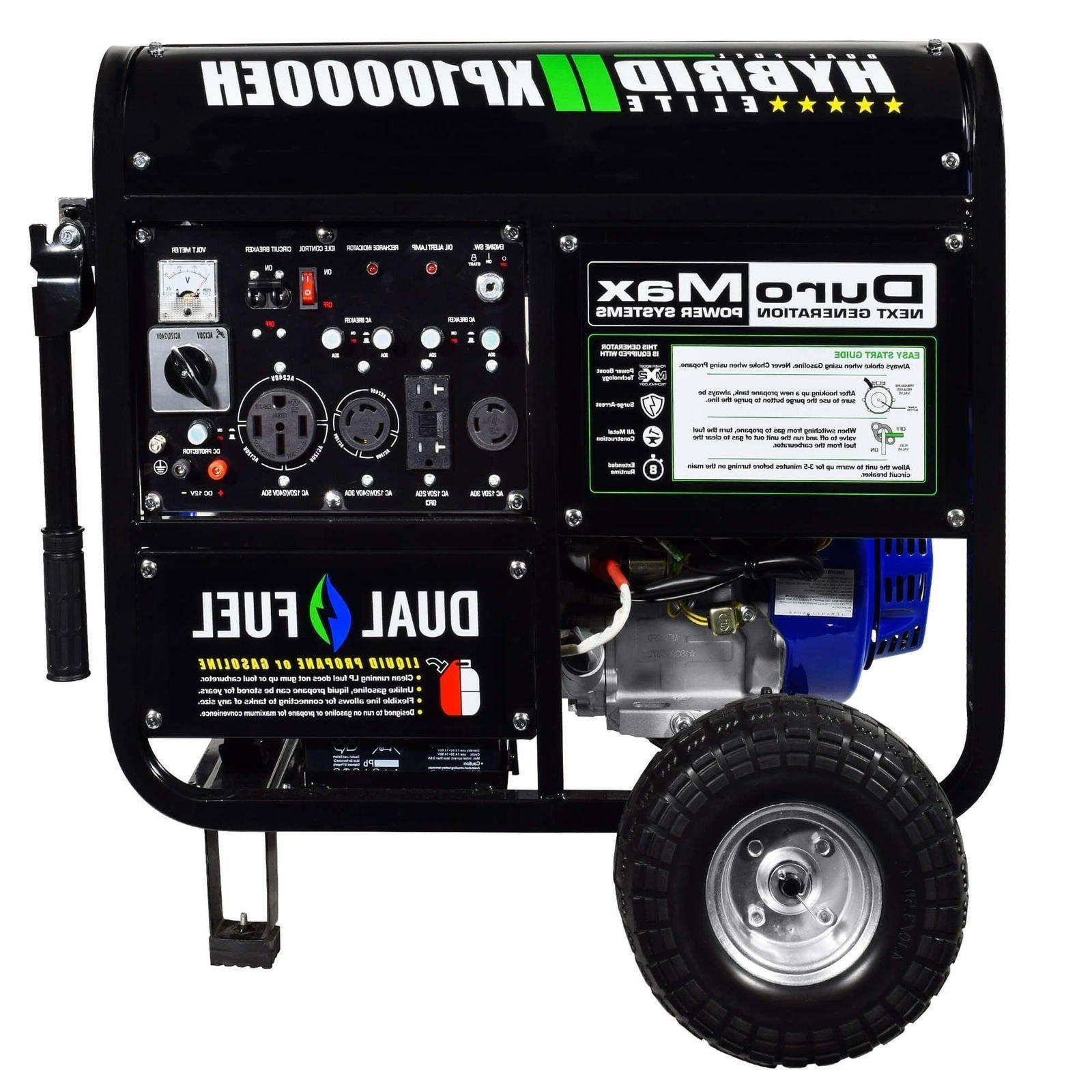 xp10000eh 18hp 10000w electric start dual fuel