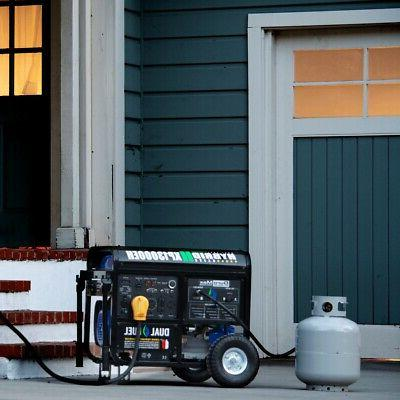DuroMax 13000 Portable Gas Propane Generator