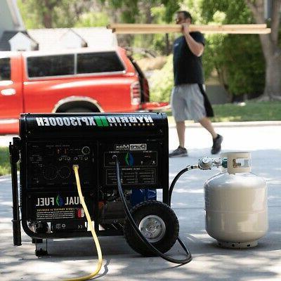 Portable Hybrid Generator