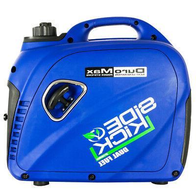 DuroMax XP2000EH 2000 Watt Dual Fuel Hybrid Portable Generator