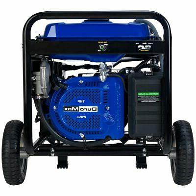 DuroMax XP4400EH 4,400-Watt Start Dual Fuel Portable