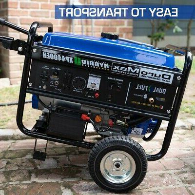 DuroMax Start Fuel Portable Generator