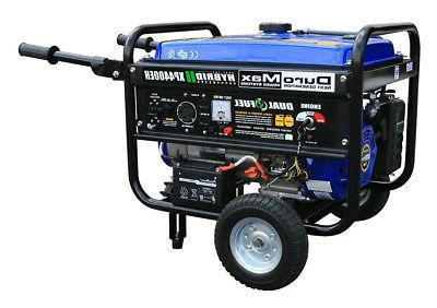 xp4400eh portable generator dual fuel propane gas