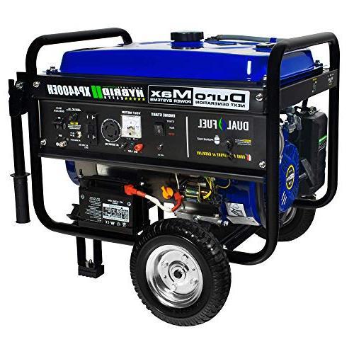 DuroMax Running Watts/4400 Starting Watts, Fuel Powered