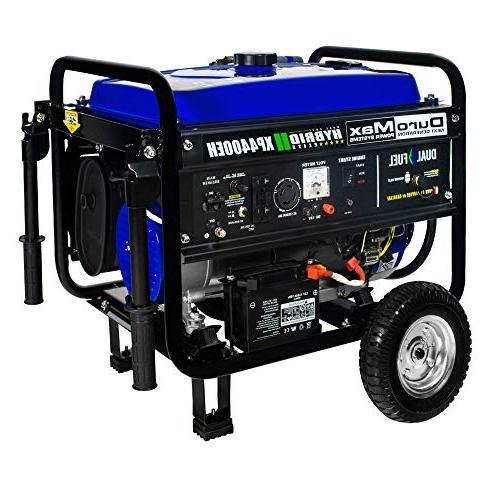 DuroMax Watts/4400 Starting Watts, Fuel