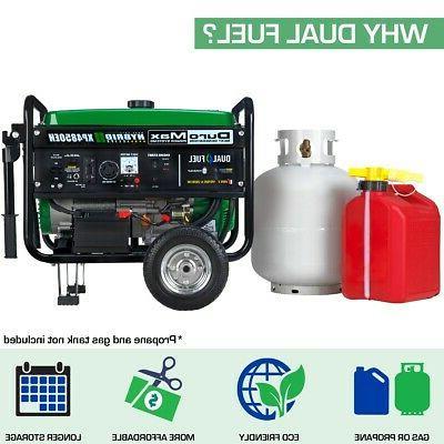 DuroMax XP4850EH Hybrid Portable Gas Generator
