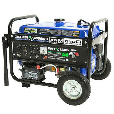DuroMax Watt 7.5 HP Portable Electric Start Gas Propane