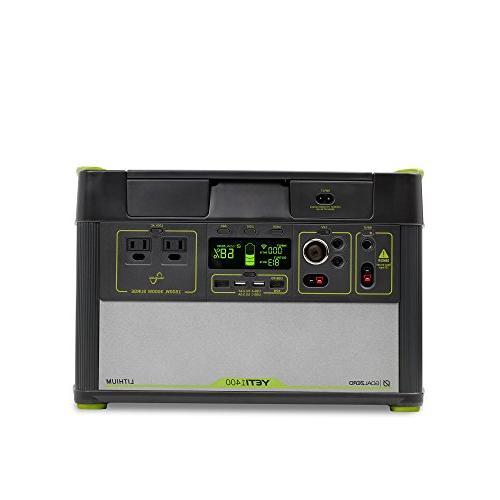 yeti 1400 lithium portable power
