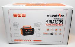 Webetop Lithium Battery Portable Power Generator 167Wh 45000