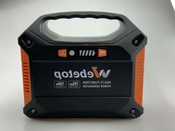 Webetop Lithium Battery Portable Power Generator