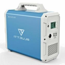 MAXOAK Portable Power Station BLUETTI EB150 1500Wh AC120V/10