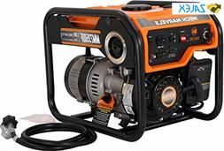 Mech Marvels 1500 Watt Portable Power Dual Fuel Generator, C