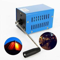 hand crank generator 20w portable usb charger