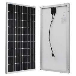 Renogy 100 Watt 12 Volt Monocrystalline Solar Panel