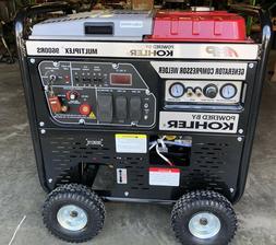 multiplex 9600rs generator welder and air compressor