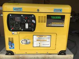 """NEW  Everlast Super Quiet DIESELGenerator """"Open Top"""" 6.5KW R"""