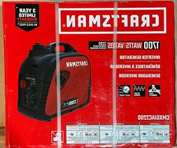 NEW CRAFTSMAN 2200 WATT GAS INVERTER GENERATOR 1700- CMXGIAC