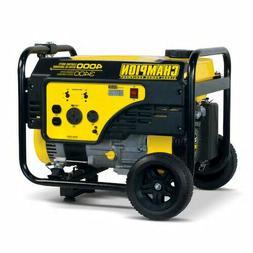 NEW Champion Power Equipment 3400-Watt Gasoline Portable Gen
