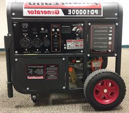 Upgraded-PowerLand PD10000E 10KW 16HP Gas Generator Electric