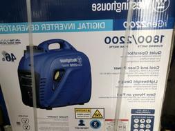 NEW WESTINGHOUSE iGen2200 PORTABLE INVERTER HOME RV CAMP GAS
