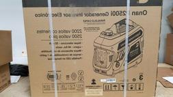 New Cummins / Onan P2500i Portable Gas Generator A058U944