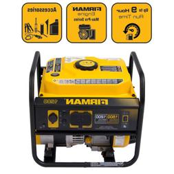 Firman P01202 1200-Watt Gas Powered Recoil Start Portable Ge