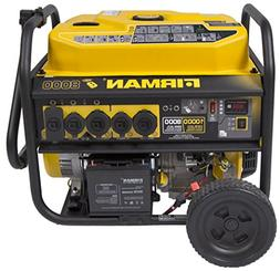 Firman P08003 8,000 / 10,000 Watt Portable Gas Generator wit