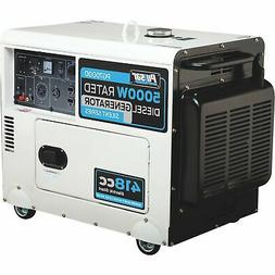 Pulsar Portable Diesel Generator- 5,500 Surge W 5K Rated W E