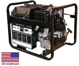 Portable Diesel Generator - 5000 Watts - 120 / 240 Volts - 1